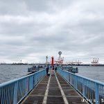 大黒海づり施設で釣り!